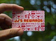 illustrative business card