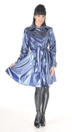 Raincoats For Women Posts Pvc Raincoat, Raincoat Jacket, Satin Gown, Satin Dresses, Imper Pvc, Raincoats For Women, Cosplay Outfits, Rain Wear, Bronze