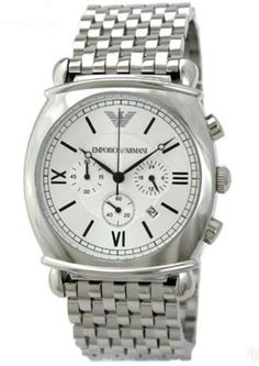 12ec38331de3 NEW Men s Watches Emporio Armani Classic Design Stainless Steel Quartz
