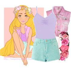 """""""Rapunzel"""" by monique-grace on Polyvore"""