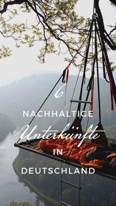 6 außergewöhnliche Unterkünfte in Deutschland Best Tents For Camping, Tent Camping, Outdoor Camping, Camping Outdoors, Great Places, Places To See, Tiny House, Holidays Germany, Reisen In Europa