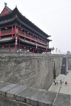 Ancient City Wall, Xian, China