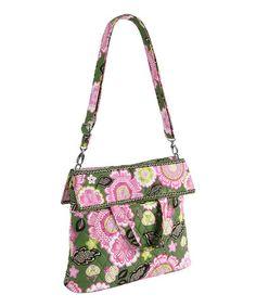 a815a8576d08 Look what I found on  zulily! Olivia Pink Convertible Crossbody Bag  zulilyfinds  Vera