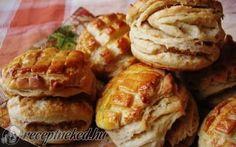 Régimódi tepertős pogácsa recept fotóval Waffles, Pancakes, Scones, Biscuits, Muffin, Bread, Breakfast, Recipes, Food