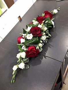 Discover thousands of images about Igreja floricultura - Flower - Funeral Floral Arrangements, Large Flower Arrangements, Church Flowers, Funeral Flowers, Floral Wedding Decorations, Flower Decorations, Floral Centerpieces, Casket Flowers, Table Flowers