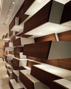 Max Mara Soho, NY. Flagship  Store, 4,000sq ft.  Retail Store design. shelving, display and storage