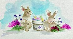 Art Impressions Stamps, Easter, Cards, Painting, Easter Activities, Painting Art, Paintings, Maps, Painted Canvas