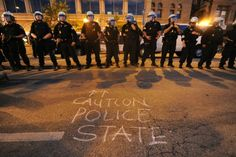 America's Police State Is Rooted in Four Federal Wars