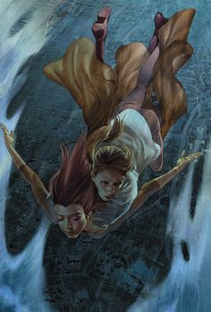 So many gorgeous Jo Chen covers for Buffy Season 8 it's difficult to choose