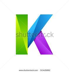 K Logo Fotos, imagens e fotografias Stock | Shutterstock