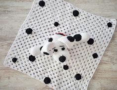 Patrigurumis: 🐶MANTITA DE APEGO DÁLMATA 🐶 - CROCHET - FÁCIL🐶🐶 Peppa Pig, Crochet Toys, Kids Rugs, Crochet Animal Amigurumi, Crochet Bikini, Crocheted Afghans, Diy And Crafts, Crochet Mask, Crochet Animals