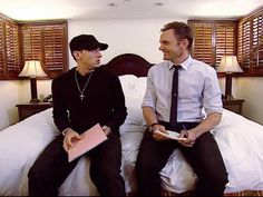 <3 <3 <3  Eminem on The Soup