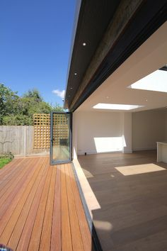Rear Extension with GRP Flat roof in South West London SW14