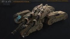 I'm a huge fan of the Command & Conquer game series and one of my favorite units is the Mammoth Tank. Military Gear, Military Vehicles, Aries Constellation, Command And Conquer, Sci Fi Ships, Battle Tank, World Of Tanks, Tank Design, Armored Vehicles