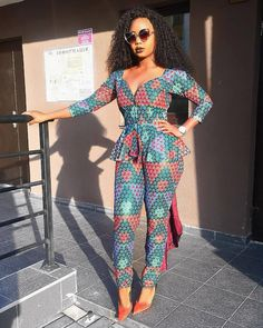 Collection of the most beautiful african ladies ankara jumpsuit styles. These are the best and most beautiful jumpsuit ankara styles you can ever have Best African Dresses, Latest African Fashion Dresses, African Print Fashion, African Attire, African Wear, African Style, Ankara Styles For Men, Latest Ankara Styles, Ankara Stil