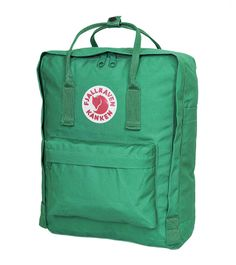 Fjallraven Classic Kanken Backpack Bag - Teal Green
