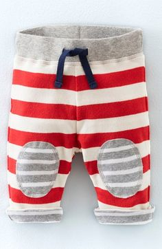 Mini Boden Reversible Cotton Jersey Pants (Baby Boys & Toddler Boys) available at #Nordstrom