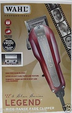 Wahl 5 Star Legend Professional Hair Clipper Five Barber Cut Haircut Fade 8147 for USD52.45 #Health #Beauty #Shaving #Professional Like the Wahl 5 Star Legend Professional Hair Clipper Five Barber Cut Haircut Fade 8147? Get it at USD52.45!