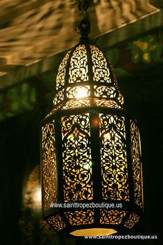 Moroccan lantern - Moroccan lighting fixtures by www.sainttropezboutique.us, via Flickr