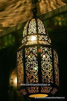 Moroccan lantern - Moroccan lighting fixtures by www.sainttropezboutique.us, via Flickr