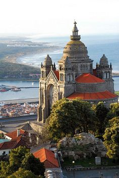 Viana do Castelo, Santa Luzia, Portugal.