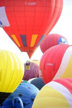 International de montgolfières de Saint-Jean-sur-Richelieu - Du 9 au 17 août 2014