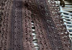 Brown crochet lace trim I Crochet lace trim I Brown lace trim I Lingerie lace trim I Lace trim I Crochet trim I Vintage lace trim I Lace by SixthCraft on Etsy