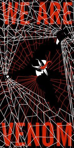 Mark Grambau's Elegant Superhero Silhouette Posters [Art] - Venom