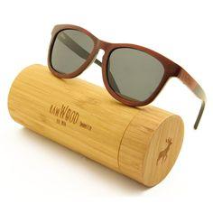 0ef934de8e9d2 Kiwanda - Brown Maple Smoke Wood Sunglasses