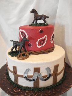 horse themed birthday cakes - Google Search