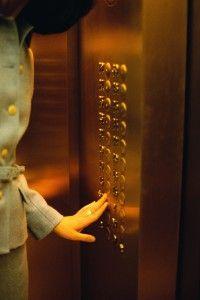 Met de lift omhoog!