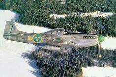itstactical:  Swedish P-51D Mustang
