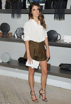 Nikki Reed Casual Style