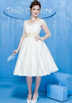 Dolly Couture The Avila Bay with Tulle Wedding Dress - The Knot