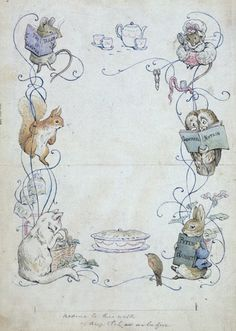 We love the illustrations by Beatrix Potter Find classic children shoes on www.menthe-et-grenadine.com