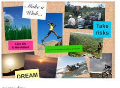 www.oprah.com check out her O Dream boards i have been using this tool since last year to help reach my goals