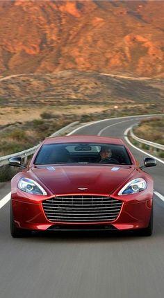 Aston Martin #Rapide S , my dream car in the dream color.. Literally perfect from bumper to bumper!!