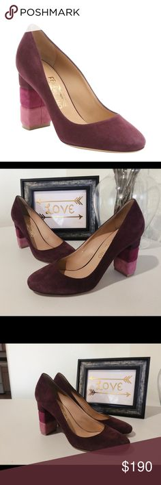 """Salvatore Ferragamo """"Madia"""" Suede Pumps Salvatore Ferragamo """"Madia"""" Suede Pumps - Authentic - very gently used - in excellent used condition. Size 7 1/2. Fits true to size. I no longer have the original box. Salvatore Ferragamo Shoes Heels"""