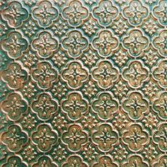 Faux Tin Wc-20 Patina Copper Decorative Kitchen Backsplash Faux PVC Wall Covering Ul Rated - 26ft.x2ft. Roll