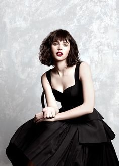 "daily felicity jones. — breathtakingqueens: ""Sometimes you'd have to do [a..."