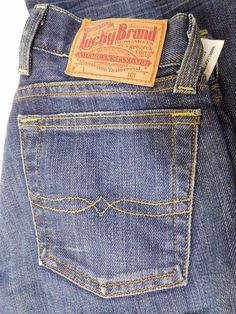 Lucky Brand Lil Maggie Ultra Low-Rise Slim Boot-leg Dungarees Ring spun 24 LONG! #LuckyBrand #JeansPants