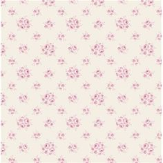 """Jane Pink"" Scandi Floral Fabric Fat Quarter by Tilda"