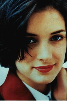 Photo of Winona for fans of Winona Ryder 165328 Winona Ryder, Johnny And Winona, 90s Grunge Hair, Tim Burton Beetlejuice, Winona Forever, Minnesota, Thing 1, Hairstyles With Bangs, Woman Crush