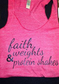 Fitness motivation shirt on Etsy, $22.00