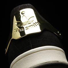 hot sale online c4120 23317 adidas Stan Smith Metal Shoes - Black   adidas US Black Adidas Shoes, Black  Shoes