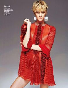 """New Style"" Noreen Carmody for Grazia Italy February 2015"