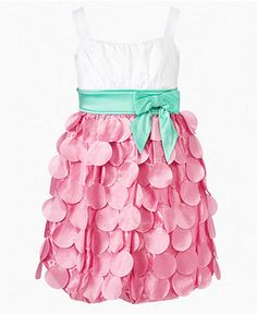 Ruby Rox Girls Dress, Girls Tiered Petal Dress - Kids Kids' Easter Dressing - Macy's