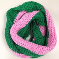 The Favorite Cowl featured in AKA Sorority Colors on Etsy