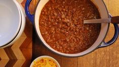 This winning chili is perfect for football season, and the make-ahead recipe works well for entertaining. Ingredients 3 dried ancho chili peppers, stemmed and seeded 2 dried guajillo or pasilla chili peppers, stemmed and seeded 3 cups beef stock 1 tablespoon vegetable or olive oil 1/2 pound fresh Mexican chorizo, casing removed or 1/3 pound …