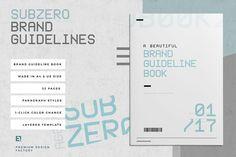 Subzero Brand Guidelines by Egotype on @creativemarket